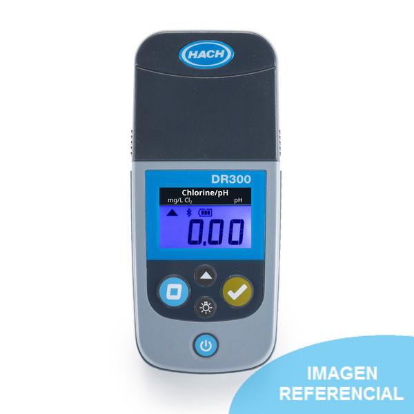 Colorímetro DR300 de cloro, pH