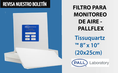 Filtro para Monitoreo  de Aire – Pallflex®