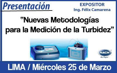 Nuevas Metodologías para la Medición de la Turbidez – Lima