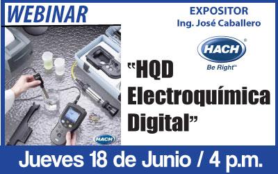HQD –  Electroquímica Digital