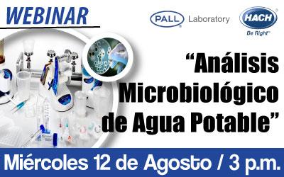 Análisis Microbiológico de Agua Potable