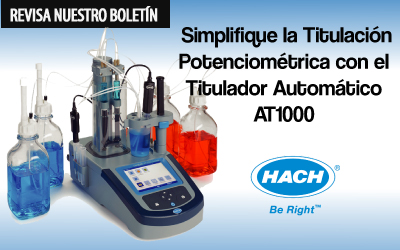 Simplifique la Titulación Potenciométrica con el Titulador Automático AT1000