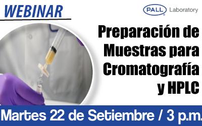 Preparación de Muestras para Cromatografía y HPLC