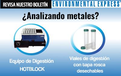 ¿Analizando metales? ¡Encuentre equipos y  suministros para digestión de muestras aquí!