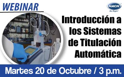 Introducción a  los Sistemas de  Titulación Automática:  Cambia de la titulación manual  a la titulación automática