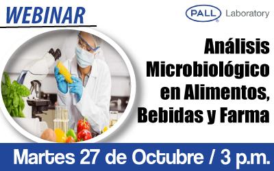 Análisis Microbiológico en Alimentos, Bebidas y Farma