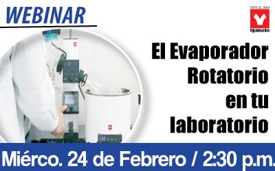 El Evaporador  Rotatorio en tu laboratorio