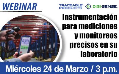 Instrumentación para  mediciones y monitoreos  precisos en su laboratorio