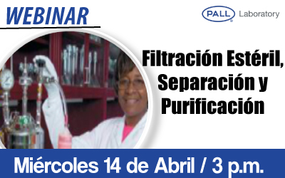 Filtración Estéril, Separación y Purificación