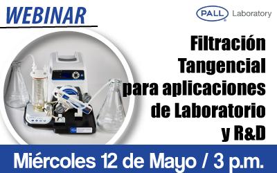 Filtración Tangencial para aplicaciones de Laboratorio y R&D