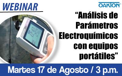 Análisis de Parámetros Electroquímicos con equipos portátiles