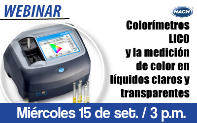 Colorímetros  LICO y la medición de color en líquidos  claros y transparentes