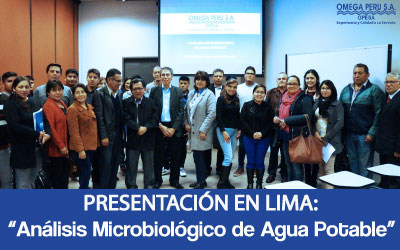 Análisis Microbiológico de  Agua Potable – 26 de Setiembre – Lima