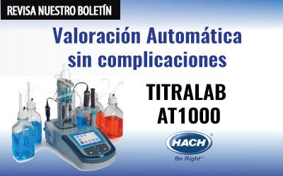 TITULACIÓN AUTOMÁTICA: Titralab AT1000