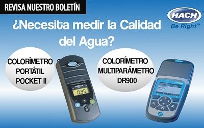 ¿Necesita medir la Calidad del Agua? Les presentamos nuestros Colorímetros Portátiles