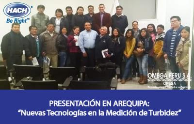 Nuevas Tecnologías en la Medición de la Turbidez – 12 de junio